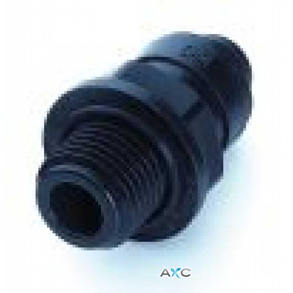"1/4"" Male threaded straight adaptor - 6mm tube"