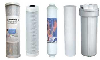 GAC,CTO,Sediment filters