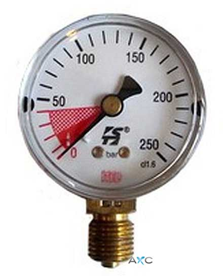 High pressure gauge, replacement for professional pressure regulators