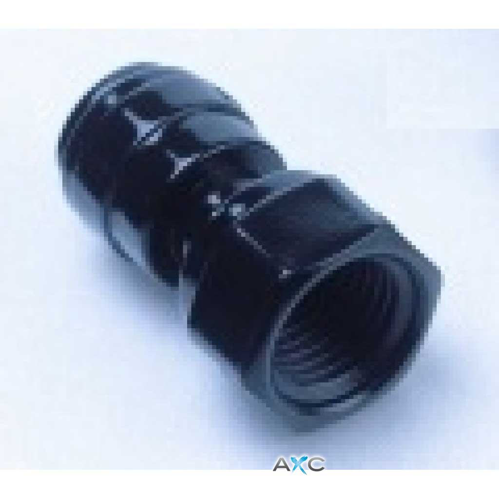 Straight female adaptor 1/4'' thread - 8mm push-in fitting