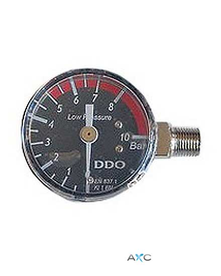 Low pressure gauge, replacements for pressure regulators